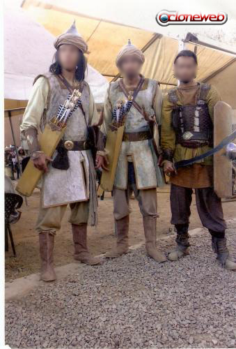 Prince of Persia Movie - Prince of Persia Extras in Outfits