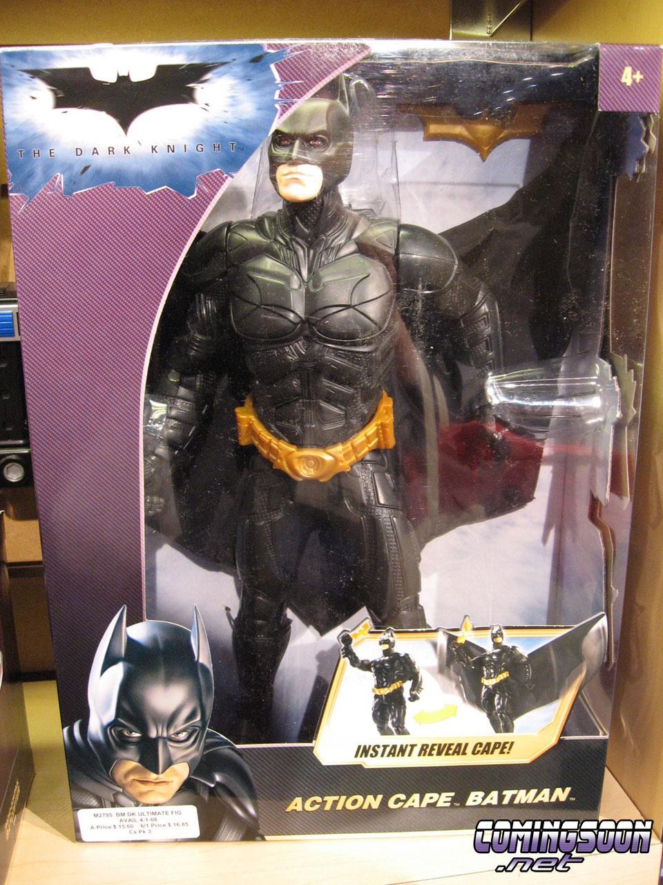 The Dark Knight Mattel S Dark Knight Toys Unveiled