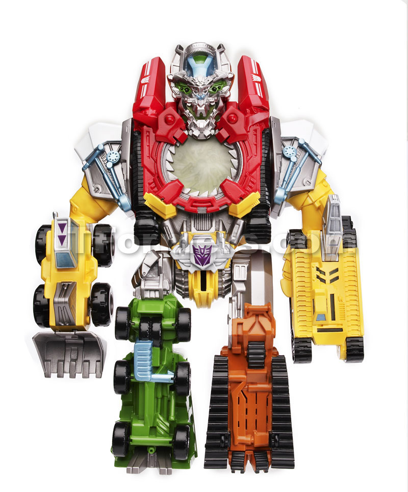All Transformers Toys : Transformers devastator toys all constructicons