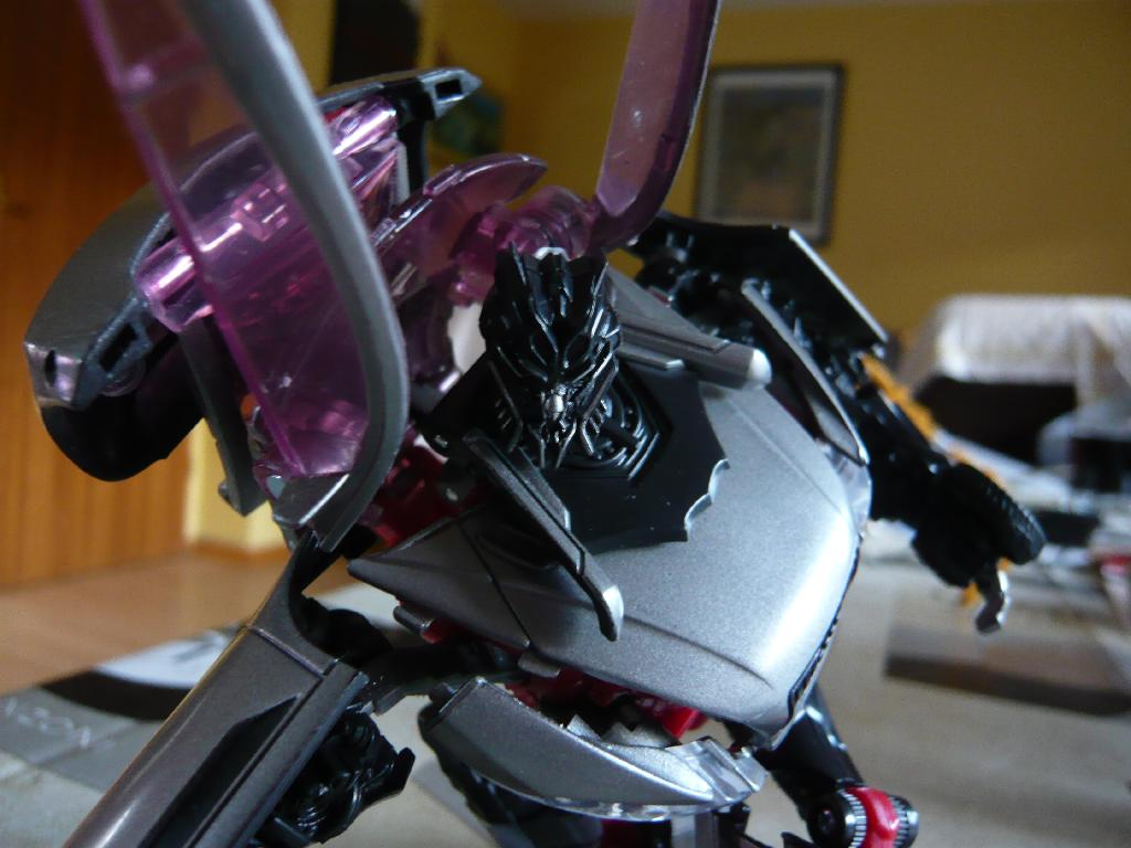 Transformers 3 - Rampage, Sideswipe, Sideways toy shots
