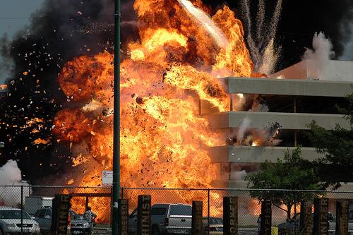 Dark Knight Explosion