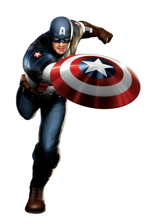 Chris Evans as Captain America — concept art June 15th, 2010