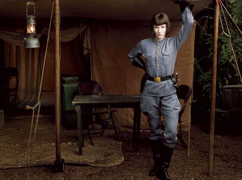 Cate Blanchett in Indiana Jones 4