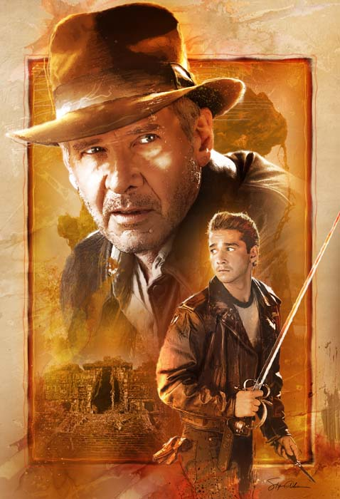 Indiana Jones 4 Comic Cover