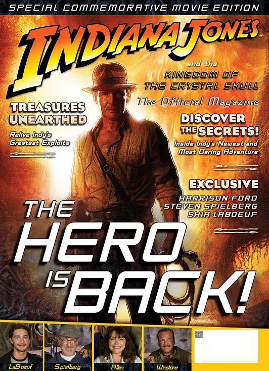 Indiana Jones Movie Magazine Cover