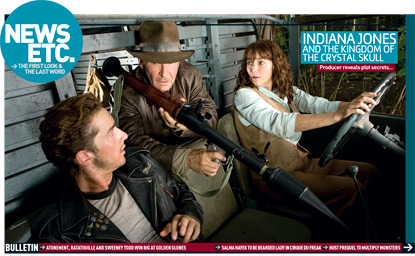 Indiana Jones with a rocket launcher