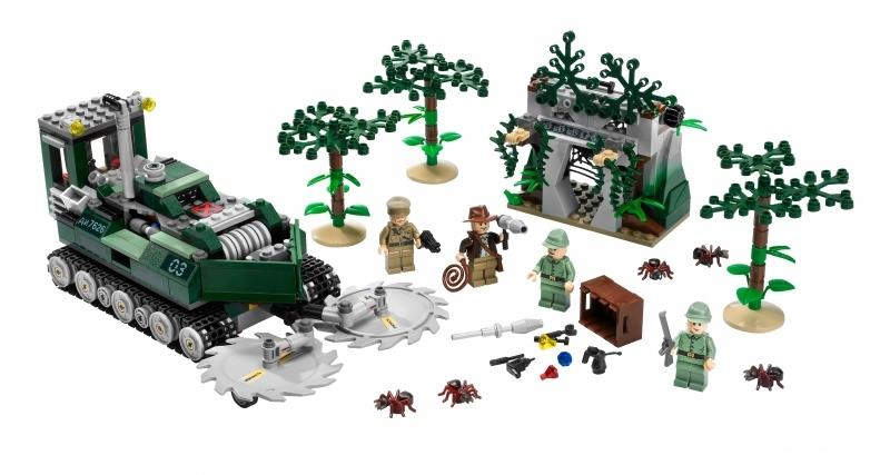Indiana Jones Lego Sets Revealed Indiana Jones And The Kingdom Of