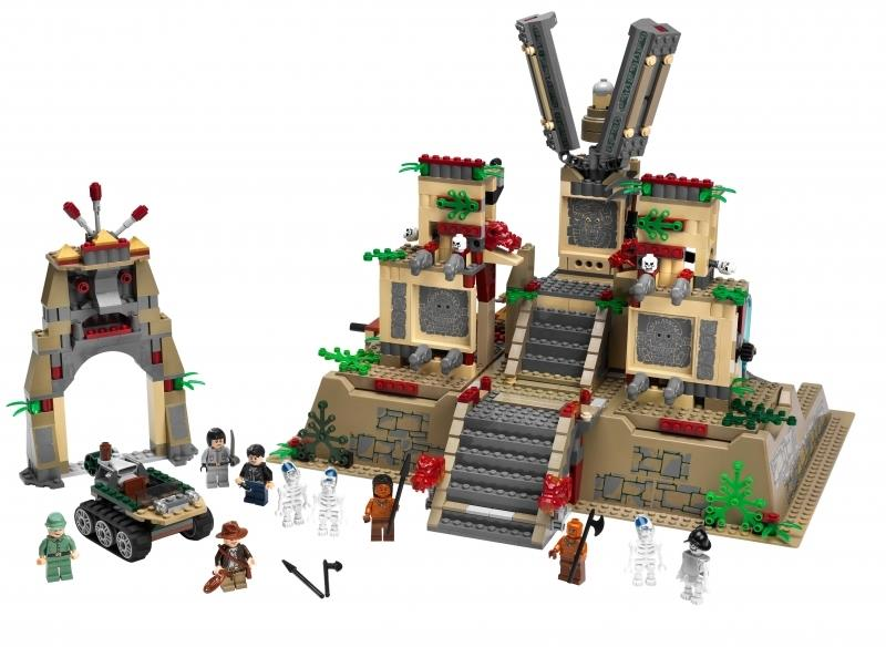 Indiana Jones Lego Sets Revealed (Indiana Jones and the ... Pacific Rim Cover