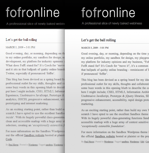 Windows and OS X font rendering comparison