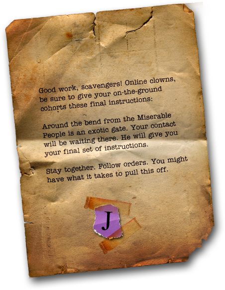 Joker's note found in the London Safe