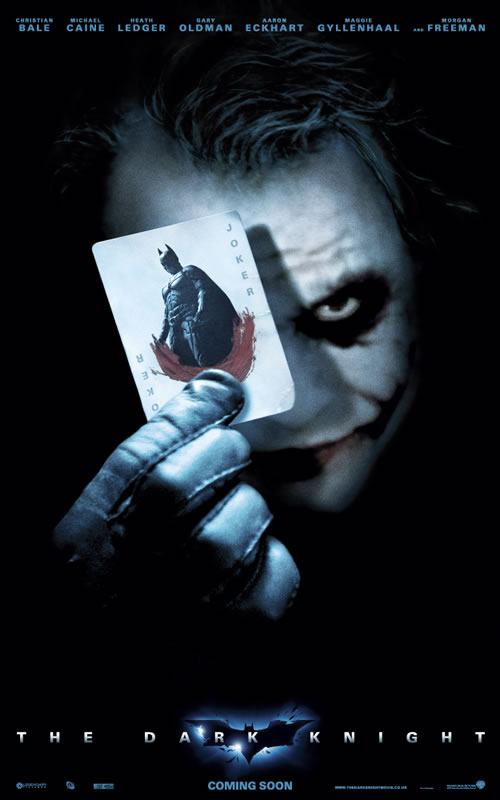 New Joker Dark Knight Poster