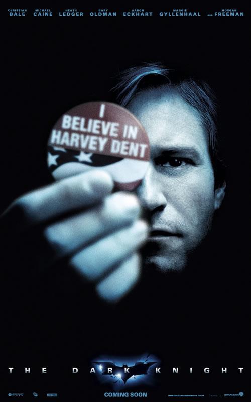 Harvey Dent Dark Knight Poster