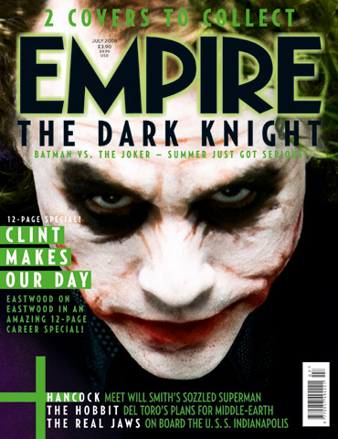 Joker version of Empire Magazine