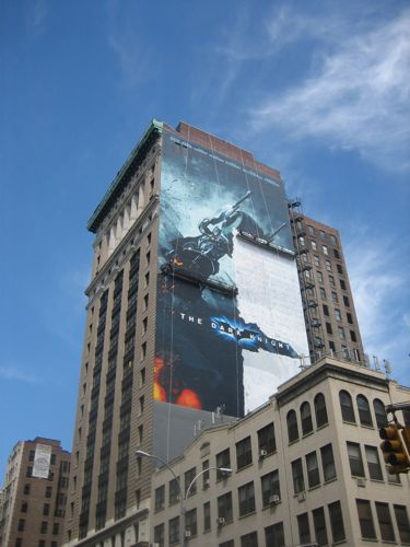 Large Dark Knight Ad