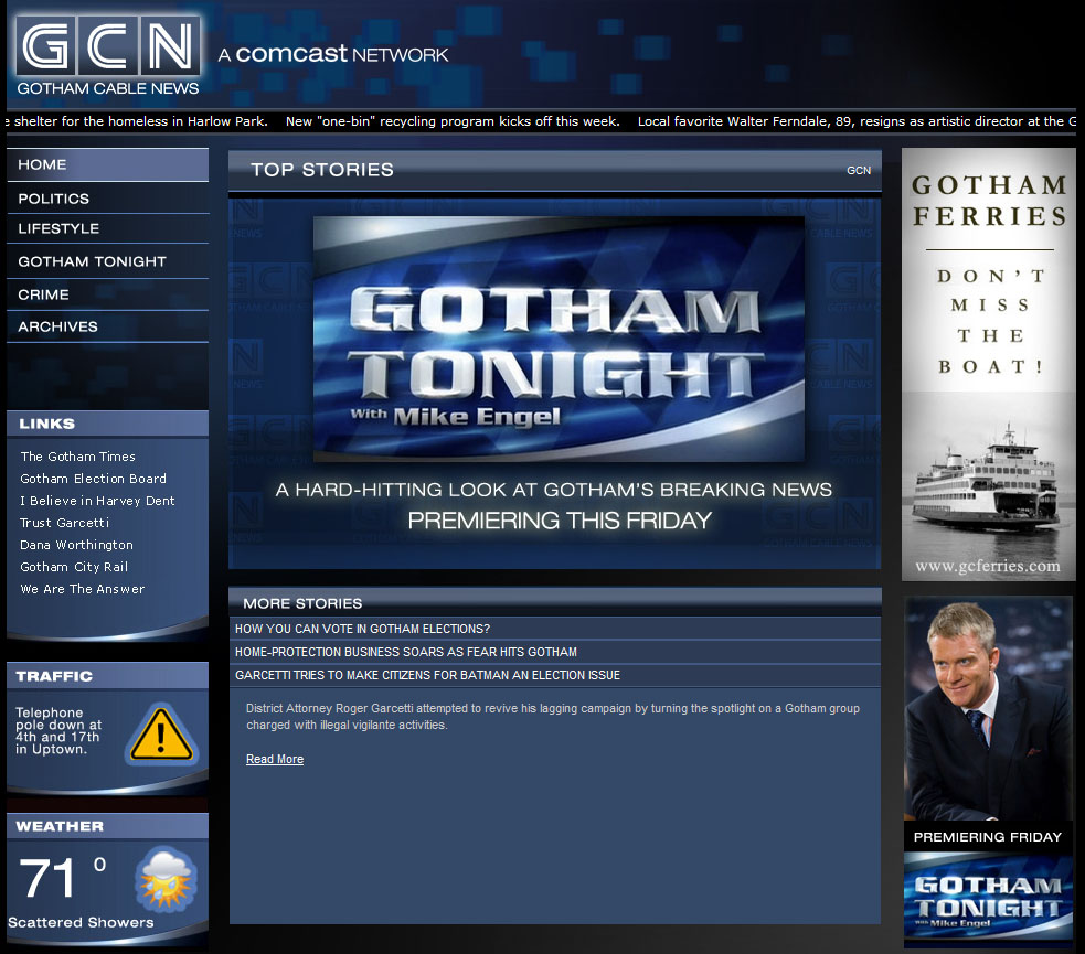 News: Gotham Cable News Goes Live