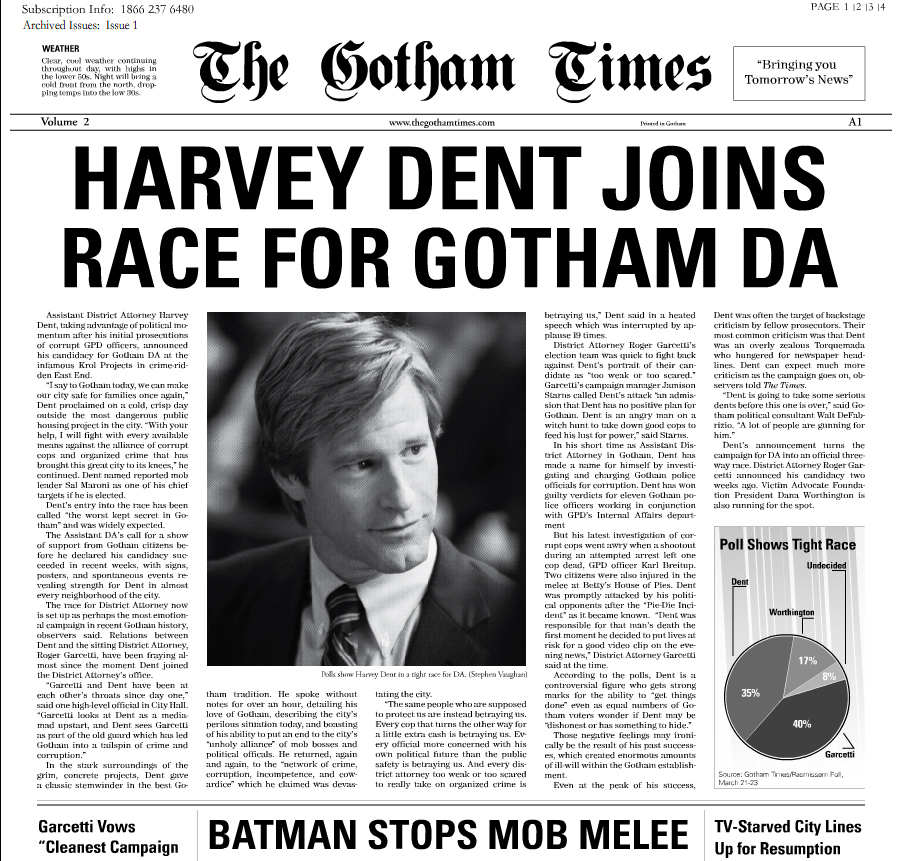 Viral Times Web: More Viral, New Gotham Times Issue