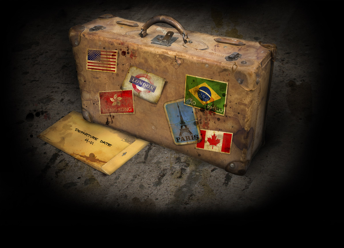 10 Tips For International Travel tdk-mar30-clown-travel-agency-case