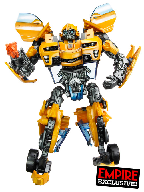 Transformers 3 - Official Toy Pictures of Bumblebee and ...