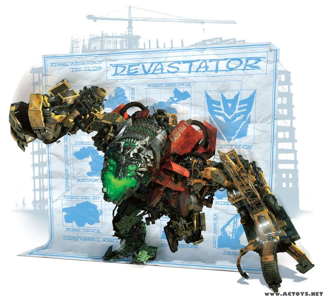 transformers 20090211 devastator Nackt, Naked, Nude, Nue,