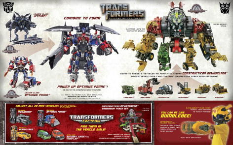 "Transformers 2 Revenge of the Fallen - Jetfire & Optimus Prime combined, first look at ""Power Up"" Optimus Prime"