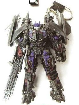 Transformers 2 Revenge of the Fallen - Power-up Optimus Prime (combined with Jetfire) keychain
