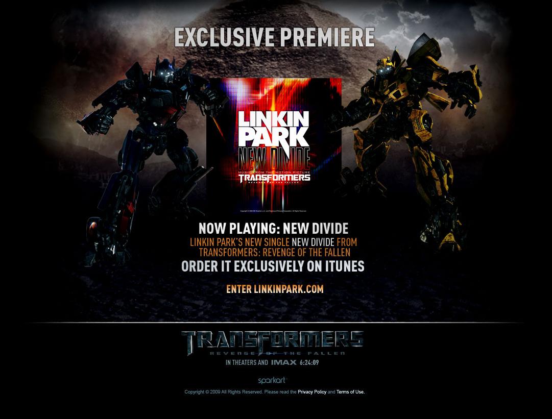 Image Result For Transformers Linkin Park New Divide