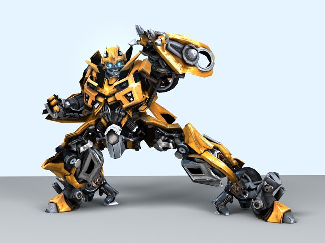 Bumblebee CG Renders