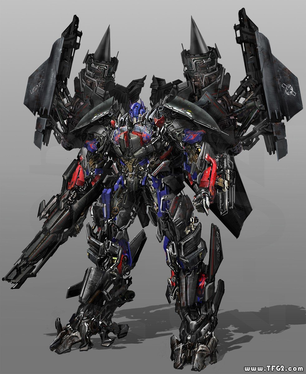 Transformers 3 - Concepts of Jetfire & Optimus Prime ...