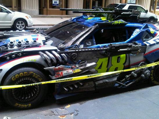 Transformers 3 - Day 1 in Chicago – Weaponized Nascar ...